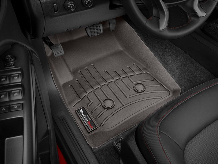 WeatherTech® 477511 Chevy Colorado 15-18 COCOA Front Floor Liners