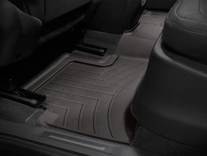 WeatherTech® 47751-1-3 Chevy Colorado EXTENDED CAB 15-18 COCOA Floor Liner Set