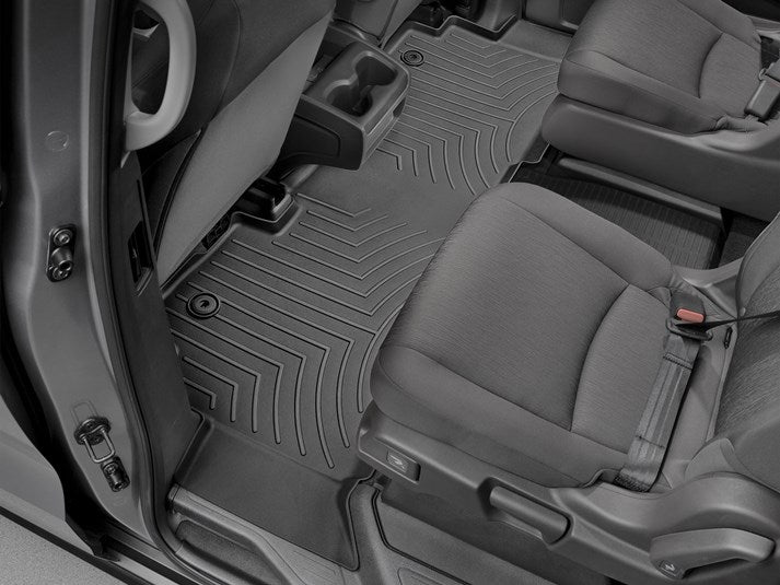 WeatherTech® 441218-1-2 Floor Liners 18-19 Honda Odyssey BLACK Set