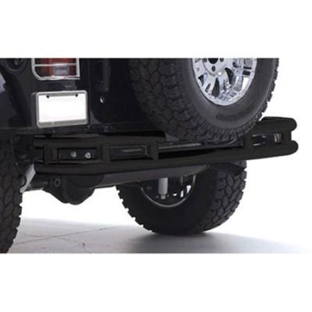 Smittybilt RB01-T Tubular Bumper Rear Without Hitch For 87-06 Jeep JK Wrangler