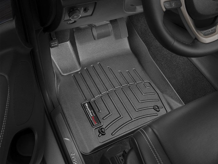 WeatherTech® 444851-443242 Jeep Grand Cherokee 13-15 BLACK Full Set