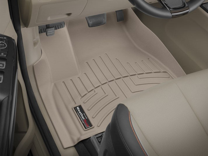 WeatherTech® 45709-1-4 Kia Sedona 15-18 TAN Floor Liners Full Set