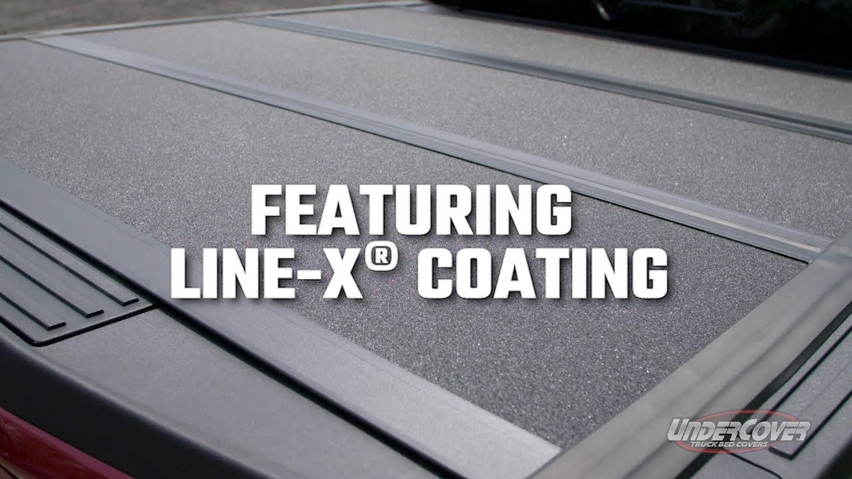 UnderCover AX32004 Armor Flex LINE-X Tonneau Truck Bed Cover | DODGE/RAM 1500 6.5 FOOT BED 02,03,04,05,06,07,08,09,10,11,12,13,14,15,16,17,18,19