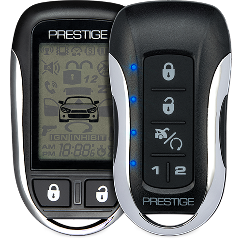 Prestige PE1M2LCDZ/APSRS Remote Car Starter 5-Button 2-Way LCD Confirming OVER 1 MILE RANGE Installation Included Grand Rapids, MI