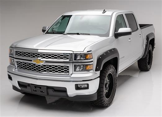 TrailFX Pocket Style Fender Flares | Chevy Silverado 6.5'/8' 14-19 | PFFC3004T - Textured