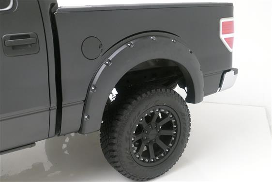 TrailFX Pocket Style Fender Flares | Ford F-150 09-14 | PFFF3002T - Textured