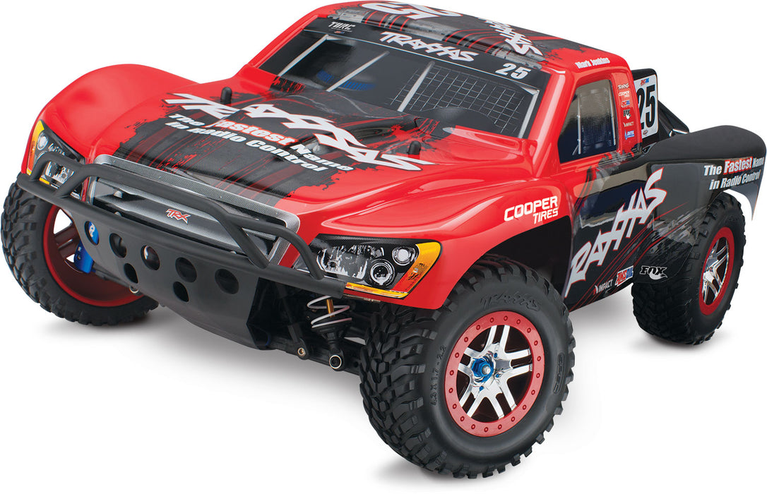 Traxxas SLASH 4x4 ULTIMATE RED 2 4 GHz 5 Channel 68077-24