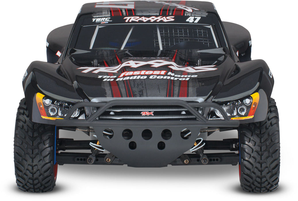 Traxxas-68077-24 BLK-Traxxas SLASH 4x4 ULTIMATE BLACK 2.4 GHz 5 Channel 68077-24-AutoAccessoriesGuru.com