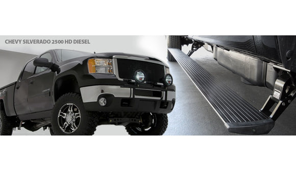 Chevy/GMC DIESEL 15-16 Amp Research PowerStep™ Running Boards # 76147-01A