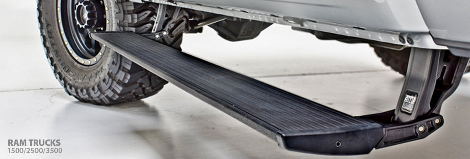 Dodge Ram MEGA Cab 06-09 Amp Research PowerStep™ Running Boards # 75118-01A