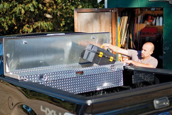 "TrailFX-121701-69"" Single Lid Low Profile DEEP Tool Box 