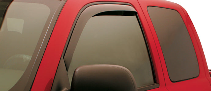 TrailFX 14355 In Channel Window Vent Rain Visors Guards 02-06 Escalade EXT