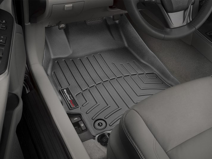 WeatherTech® 447881-444002 Toyota Camry 15 16 17 BLACK Digital Fit Floor Liners