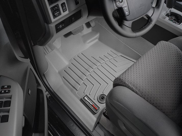WeatherTech® 464081 Toyota Tundra 12 13 14 15 16 17 18 GRAY Digital Fit Floor Liners
