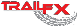 "TrailFX-A1503S-TrailFX 4"" Oval Straight STAINLESS Nerf Bars 