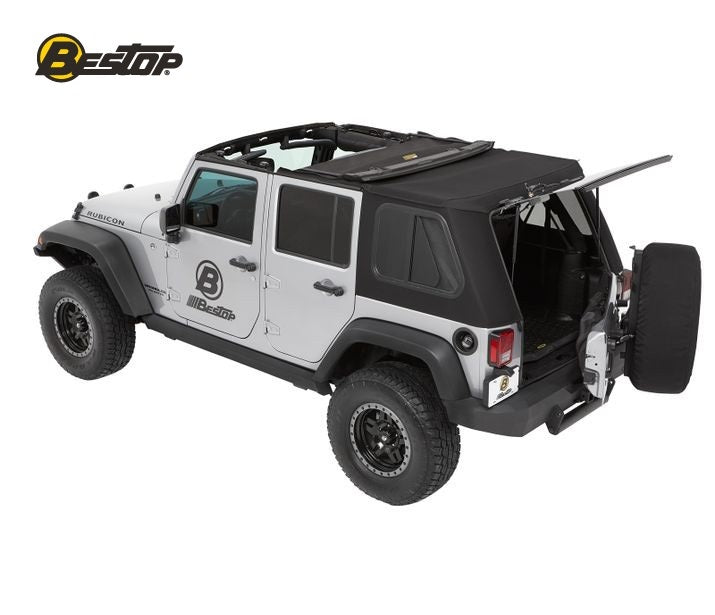 Bestop 54853-17 TREKTOP™ PRO Soft Top | Jeep Wrangler Unlimited 4-Door 07-18