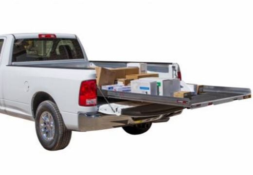 Slide Out Truck Bed Tray 1000 lb capacity Fits most 6-6.75FT Short Beds Cargo Glide CG1000-7548
