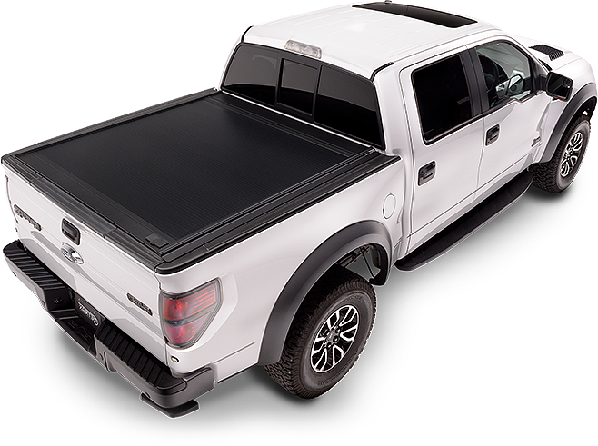 RetraxPRO MX Tonneau | Ford F-150 Flareside 04-up Part# 80314