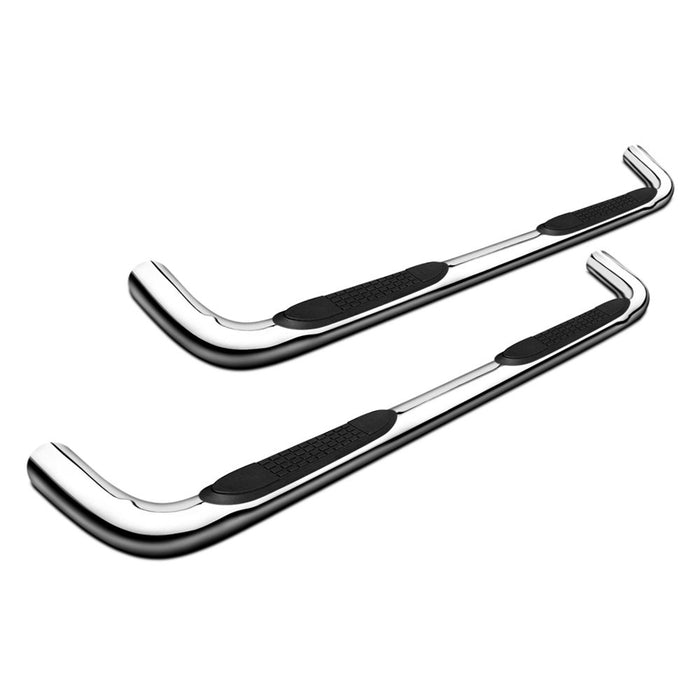 "Chevy Silverado 2500/3500 CREW CAB 01-18 STAINLESS 3"" Step Bars Trail FX # A0031S"