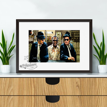 Load image into Gallery viewer, Blues Brothers and Ray Charles