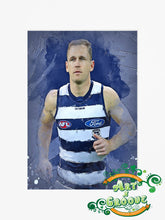 Load image into Gallery viewer, Joel Selwood Water Colour