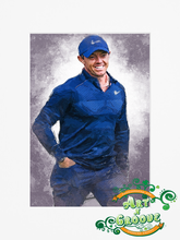 Load image into Gallery viewer, Rory Mcilroy Water Colour