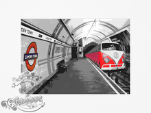 Load image into Gallery viewer, Volkswagen Campervan London Underground