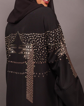 Load image into Gallery viewer, Black Abaya - Free size