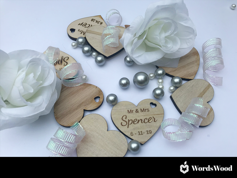 New - Wedding Keepsake Favours