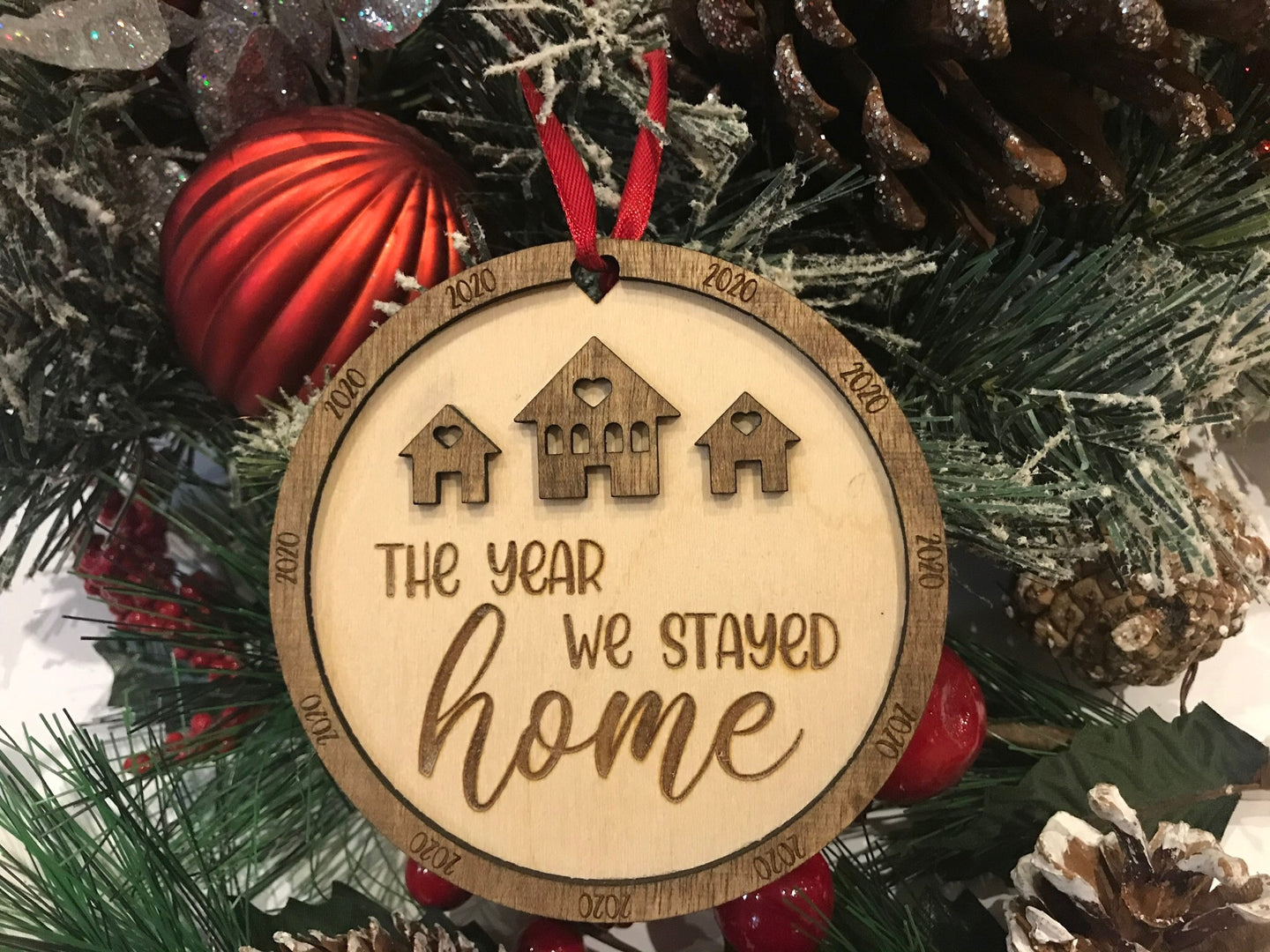 2020 Christmas Holiday Tree Ornament
