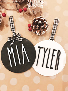 Christmas Holiday Tree Ornament