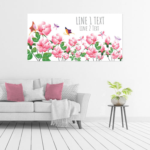 Butterflies and Roses - All Occasion - Banners - PrintingApes