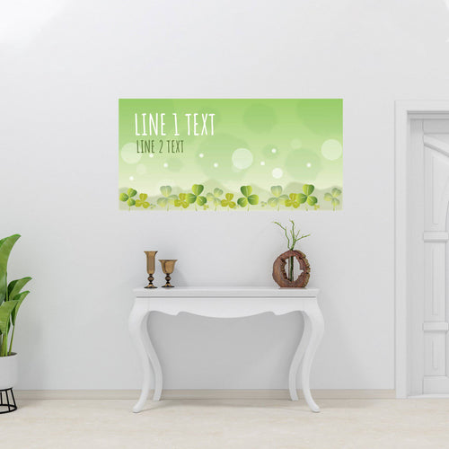 Clovers - All Occasion - Banners - PrintingApes
