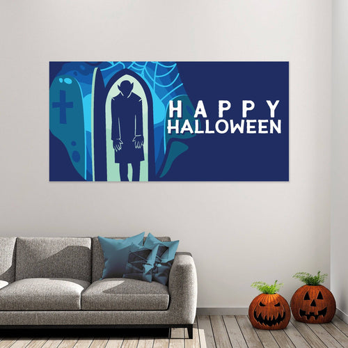 Dracula's Happy Halloween - Banners - PrintingApes