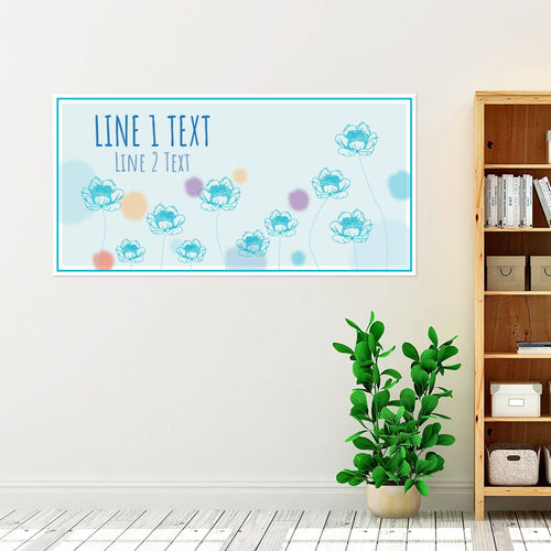 Flowers on the Sky - All Occasion - Banners - PrintingApes