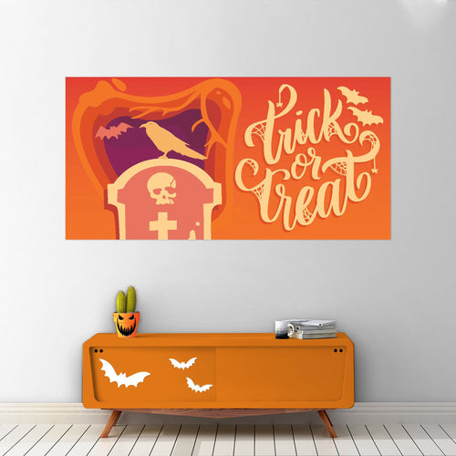 Trick or Treat - Halloween - Banners - PrintingApes