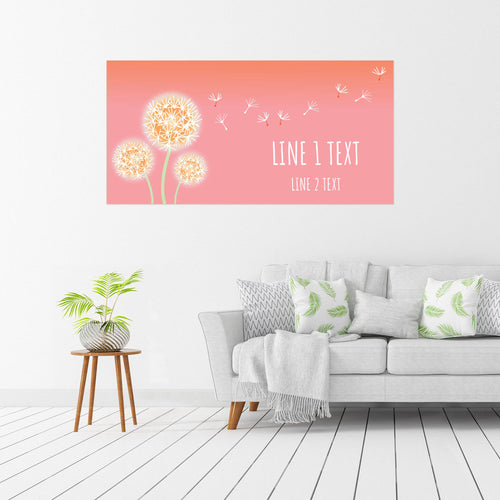 Wishing Flowers at Sunset - All Occasion - Banners - PrintingApes