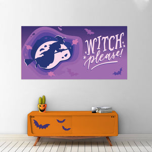Witch Please - Halloween - Banners - PrintingApes