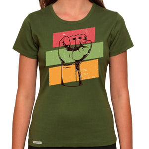 Honor Black History - Organic T-Shirt - Women's (Style: Altai) - PrintingApes