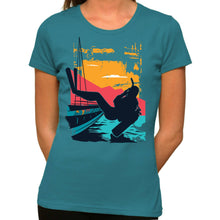 Load image into Gallery viewer, Scubadiver - Organic T-Shirt - Women's (Style: Altai) - PrintingApes
