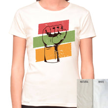 Load image into Gallery viewer, Honor Black History - Organic T-Shirt - Women's (Style: Altai) - PrintingApes