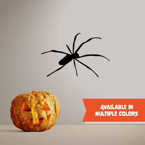 Crawling Spider - Halloween - Wall Decal - PrintingApes