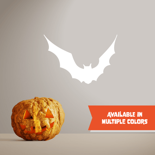 Flying Bat - Halloween - Wall Decal - PrintingApes