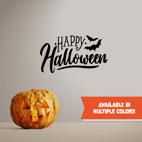 Happy Halloween - Halloween - Wall Decal - PrintingApes