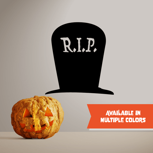 Headstone RIP - Halloween - Wall Decal - PrintingApes