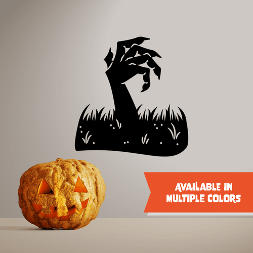Zombie Rising - Halloween - Wall Decal - PrintingApes