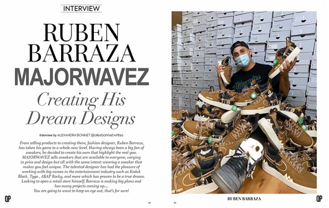 QP MAG article featuring Majorwavez founder Ruben Barraza