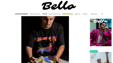 Majorwavez founder Ruben Barraza interview for Bello Mag