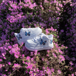 Toddler HD Blue Butterfly Air Force 1