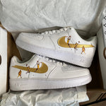 """Gold Kobe"" Air Force 1"